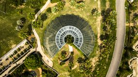 Jardín botánico de San Antonio foto de archivo libre de regalías