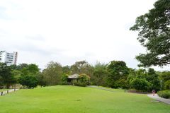 Jardín botánico de Singapur Imagenes de archivo