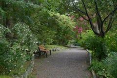 Jardín botánico de Stavanger imagen de archivo libre de regalías