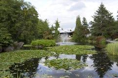 Jardín botánico de VanDusen Foto de archivo libre de regalías