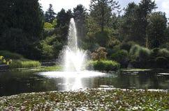 Jardín botánico de VanDusen Foto de archivo
