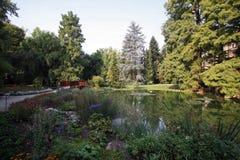 Jardín botánico de Zagreb fotos de archivo