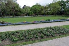 Jardín botánico de Zagreb foto de archivo