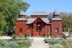 Jardín botánico de Zagreb imagenes de archivo