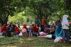 Jardín botánico en Bogor Imagen de archivo