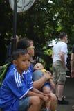 Jardín botánico en Bogor Fotos de archivo libres de regalías