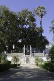 Jardín botánico en Coimbra Foto de archivo libre de regalías