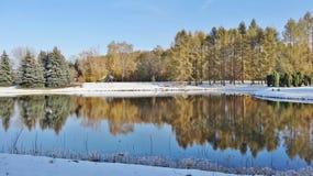 Jardín botánico en Lodz Imagenes de archivo