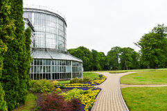 Jardín botánico, Kretinga, Lituania fotografía de archivo