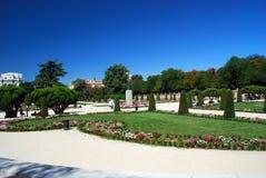 Jardín botánico real de Madrid, España Foto de archivo libre de regalías