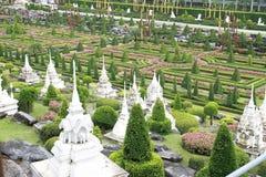 Jardín botánico tropical de Nong Nooch Fotos de archivo