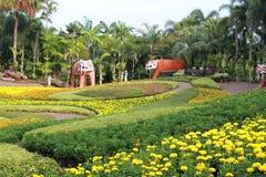 Jardín botánico tropical de Nong Nooch Foto de archivo libre de regalías