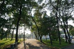 Jardín botánico vladivostok Primorye Rusia Foto de archivo libre de regalías