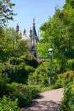 Jardín Brighton East Sussex Southern England Reino Unido del pabellón real Foto de archivo libre de regalías
