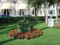 Jardín, Cannes Foto de archivo