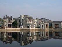 jardín China de la impresión de Ling-nan Foto de archivo libre de regalías