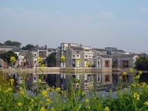 jardín China de la impresión de Ling-nan Imagen de archivo