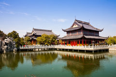 Jardín chino Imágenes de archivo libres de regalías