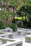 Jardín chino de la amistad fotos de archivo