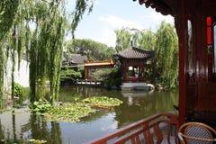 Jardín chino de la amistad Foto de archivo