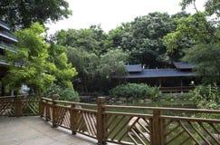 Jardín chino en parque foto de archivo