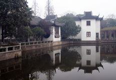 Jardín chino en Shangai Imágenes de archivo libres de regalías