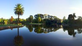 Jardín clásico de Melbourne imagenes de archivo