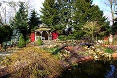 Jardín colorido Foto de archivo libre de regalías
