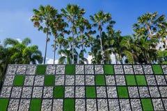 Jardín creativo vertical Imagen de archivo libre de regalías