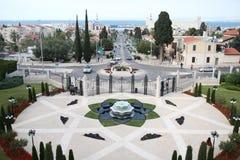 Jardín de Baha'i fotografía de archivo