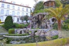 Jardín de Bom Jesús en Braga Imagenes de archivo