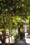 Jardín de Bom Jesús en Braga Fotografía de archivo
