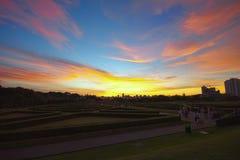 Jardín de Bothanical, Curitiba, el Brasil Fotos de archivo libres de regalías