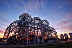 Jardín de Bothanical, Curitiba, el Brasil Imagen de archivo