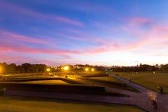 Jardín de Bothanical, Curitiba, el Brasil Imagen de archivo libre de regalías