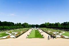 Jardín de Charlottenburg Fotos de archivo