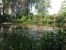 Jardín de Claude Monets Foto de archivo