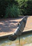 Jardín de Daniel Stowe Garden-Canal foto de archivo