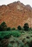 Jardín de dioses Colorado Foto de archivo libre de regalías
