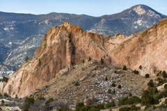 Jardín de dioses Colorado Springs Foto de archivo