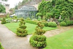 Jardín de Glenveagh - Irlanda Foto de archivo