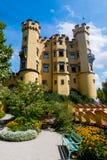 Jardín de Hohenschwangau fotos de archivo