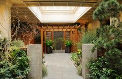 Jardín de interior Foto de archivo