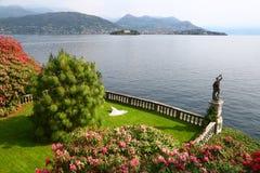 Jardín de Isola Bella, islas de Borromean, Italia Fotografía de archivo libre de regalías