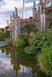 Jardín de Isola Bella, islas de Borromean, Italia Imagen de archivo