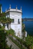 Jardín de Isola Bella, islas de Borromean, Italia Imagenes de archivo