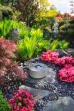 Jardín de Japón Fotos de archivo libres de regalías