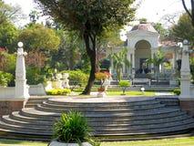 Jardín de Katmandu de sueños foto de archivo libre de regalías