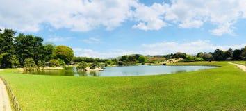 Jardín de Korakuen en Okayama Japón Fotografía de archivo