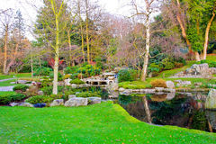 Jardín de Kyoto Imágenes de archivo libres de regalías